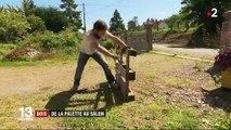 Recyclage : quand les palettes de bois deviennent des meubles de salon