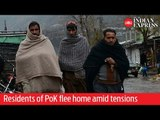 Residents of Pakistan-occupied Kashmir flee home amid tensions