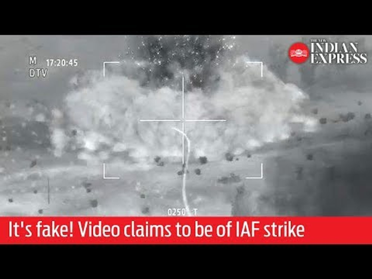 Fake news: Scene from the video game 'Arma 2' circulates as footage of IAF air strike in B