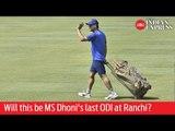 India vs Australia: Will this be MS Dhoni's last ODI at Ranchi?