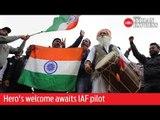 Hero's welcome awaits IAF pilot at Wagah border