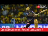 CSK vs KKR: Can MS Dhoni restrict Andre Russell's onslaught in Chennai?