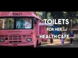 Ti - Toilets for her, with a health cafe too