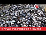 Save our jobs! Jet Airways employees protest in New Delhi