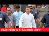 Voting Round 6: 'Modi used hatred in his campaign, we used love' says Rahul Gandhi