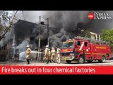 Chemical factories turn into ash as massive fire breaks out in Delhi's Naraina