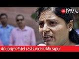 Phase 7: Apna Dal Chief Anupriya Patel casts vote in Mirzapur