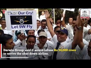 'We stood for politicians but they never stood for us' cry Jet Airways employees
