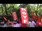 Student groups and others protest against ban of Ambedkar Periyar group by IIT Madras