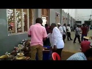 Siddaganga Mutt Anna Dasoha viral video