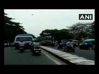 College Students Celebrating 'Bus Day' Fall Off Roof In Chennai