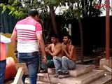 Karnataka: Jindal steel plant supervisor caught on camera threatening workers, hits two men