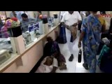 Old man dies at bank counter in TN, people walk past like nothing's up