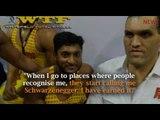 "Meet 24-year-old Balakrishna G Balu  aka ""Arnold Schwarzenegger of  Bengaluru's Whitefield"""