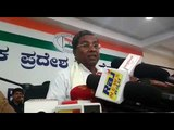 Former CM Siddaramaiah accuses Governor Vajubhai Vala of colluding with the BJP
