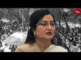 Amidst massive fanfare and support, Sumalatha files nomination from Mandya LS seat