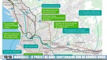 Marseille : le projet de gare souterraine sur de bonnes voies