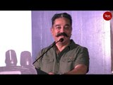 Kamal Haasan compares the slipper thrown at him with Mahatma Gandhi's slippers