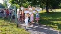 Marville : 50 salariés débraient chez Arelis