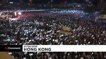 Демонстранты в Гонконге призывают лидеров G20 к помощи