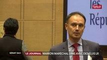 Marion Maréchal dîne avec des élus LR