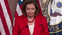 Pelosi gets emotional over migrant dad, girl who drowned