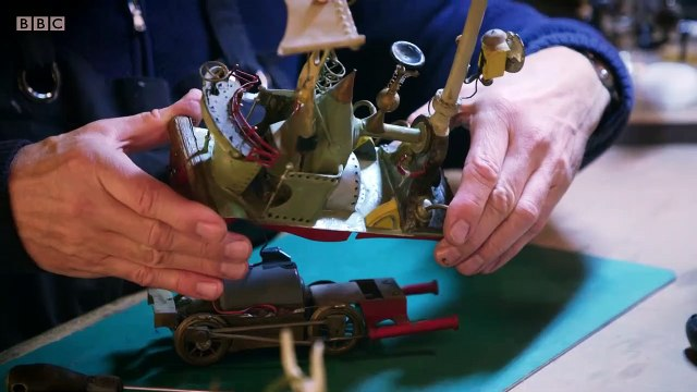 BBC The Repair Shop Series 4 (19of30) Quirky Train Set