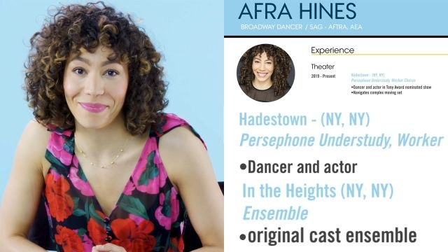 Broadway Dancer Explains Her Career Path, from First Job to Current