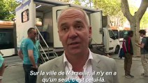 Marseille: un camion douche pour les plus démunis
