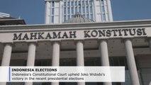 Indonesian court upholds Jokowi victory