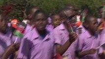 Dernier jour de la mission Unicef de la reine Mathilde au Kenya, une visite à une communauté Massaï