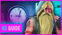 Fortnite - Visit Different Clocks (Season 9, Week 8)