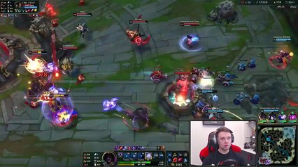 Back to 1v9ing games with ZED (Tryhard time) - Journey To Challenger  LoL