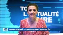 A la Une : Coup de chaud dans les écoles de la Loire / Surveillance accrue dans les Ehpad de la Loire / La mobilisation aux urgences qui continue / Coup de projecteur sur l'aéroclub de Saint-Chamond