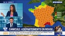 Canicule: quatre départements placés en vigilance rouge (2/2)