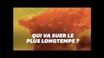 Comment et par où la canicule va quitter la France