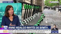 """Anne Hidalgo: """"Si j'avais pu interdire les trottinettes, je les aurais interdites"""""""