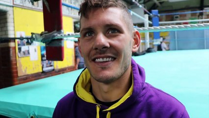 'YOU DON'T NEED TO TAKE UNNECESSARY PUNISHMENT' - LEWIS PAULIN LOOKING TO UPSET RYAN WALSH