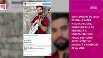 Kendji Girac en tournée : son entrée en Algérie a été refusée