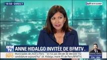 """Municpales 2020 à Paris: Anne Hidalgo """"n'a pas décidé de déclarer sa candidature"""""""