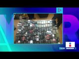 Detienen a un hombre con 130 celulares robados en el Estado de México | Noticias con Yuriria Sierra