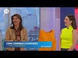 Reglas para combinar estampados en ropa de Ari Motta, experta en imagen pública