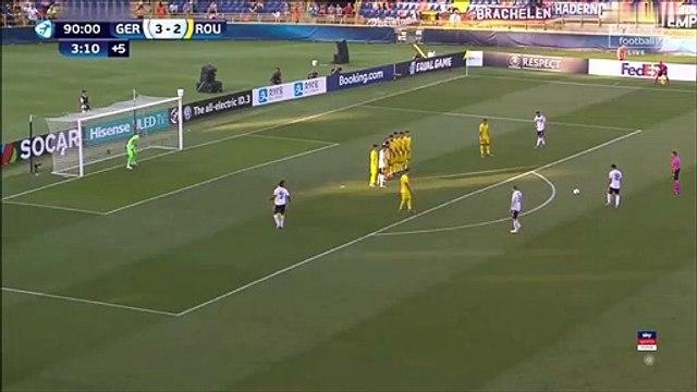 Germany [4]-2 Romania - Nadiem Amiri 94th minute free-kick goal
