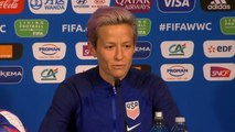Soccer star Megan Rapinoe stands by comments about White House visit