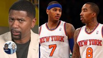 Jalen Rose reacts to the JR Smith-Carmelo Anthony to the Lakers rumors - Jalen - Jacoby