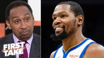 Kevin Durant's Achilles injury doesn't concern me one bit - Stephen A. - First Take