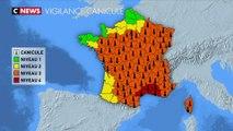 Canicule : 4 départements en vigilance rouge, une première en France