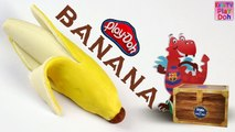 Learn To Make Banana With Play Doh - Learn Fruits - Fruits For kids - Play Doh Fruits - Kids Tv