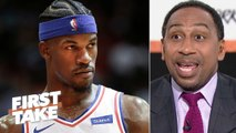 'Stay your behind in Philadelphia-' – Stephen A. to Jimmy Butler - First Take