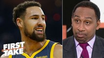 Klay Thompson's deal with the Warriors is already done - Stephen A. - First Take